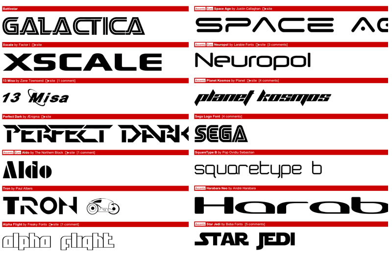 Sci-fi Inspiration: Futuristic Fonts & Alien Texts | Star Frontiers